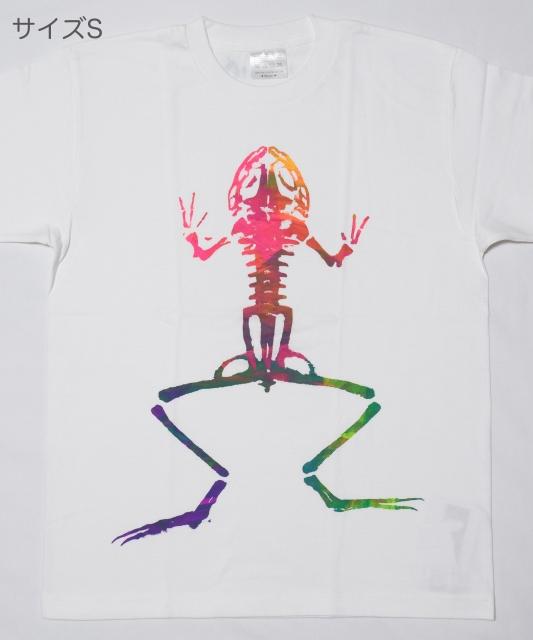 骨カエルTシャツ